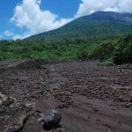 Deslave en el Chaparrastique inunda cuatro viviendas