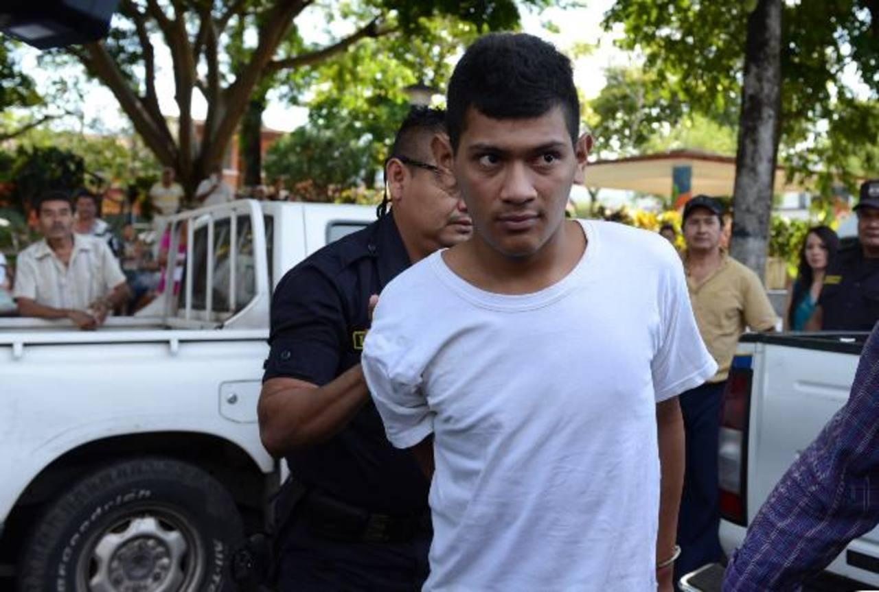 El acusado fue enviado al penal de Apanteos y la Fiscalía tiene tres meses para sustentar el caso. Foto EDH / Lissette Lemus