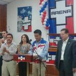 ARENA presenta candidato para alcalde de Soyapango