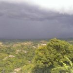 Desde ayer, el país ha experimentado fuertes lluvias.