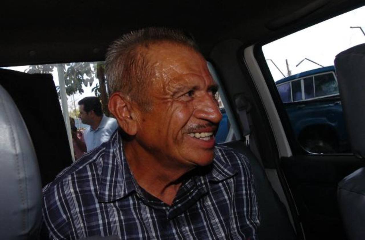 Carlos Antonio Miranda, cuando fue acusado en marzo de 2009 en un tribunal de Zacatecoluca. Foto EDH / Archivo
