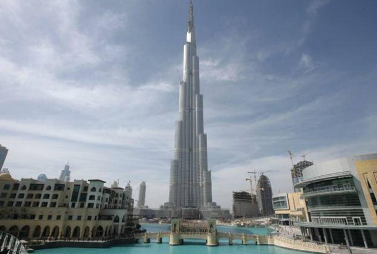 El Burj Dúbai, el edificio más alto del mundo, ubicado en Dúbai, es una de las infraestructuras que han sido construidas con concreto de mejor calidad.