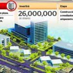 Infográfico elaborado por La Prensa, de Nicaragua, en el que se muestran las nuevas Torres Cobirsa, un proyecto que además está ligado a un centro comercial que construirá desde 2015 el Grupo Cobirsa.