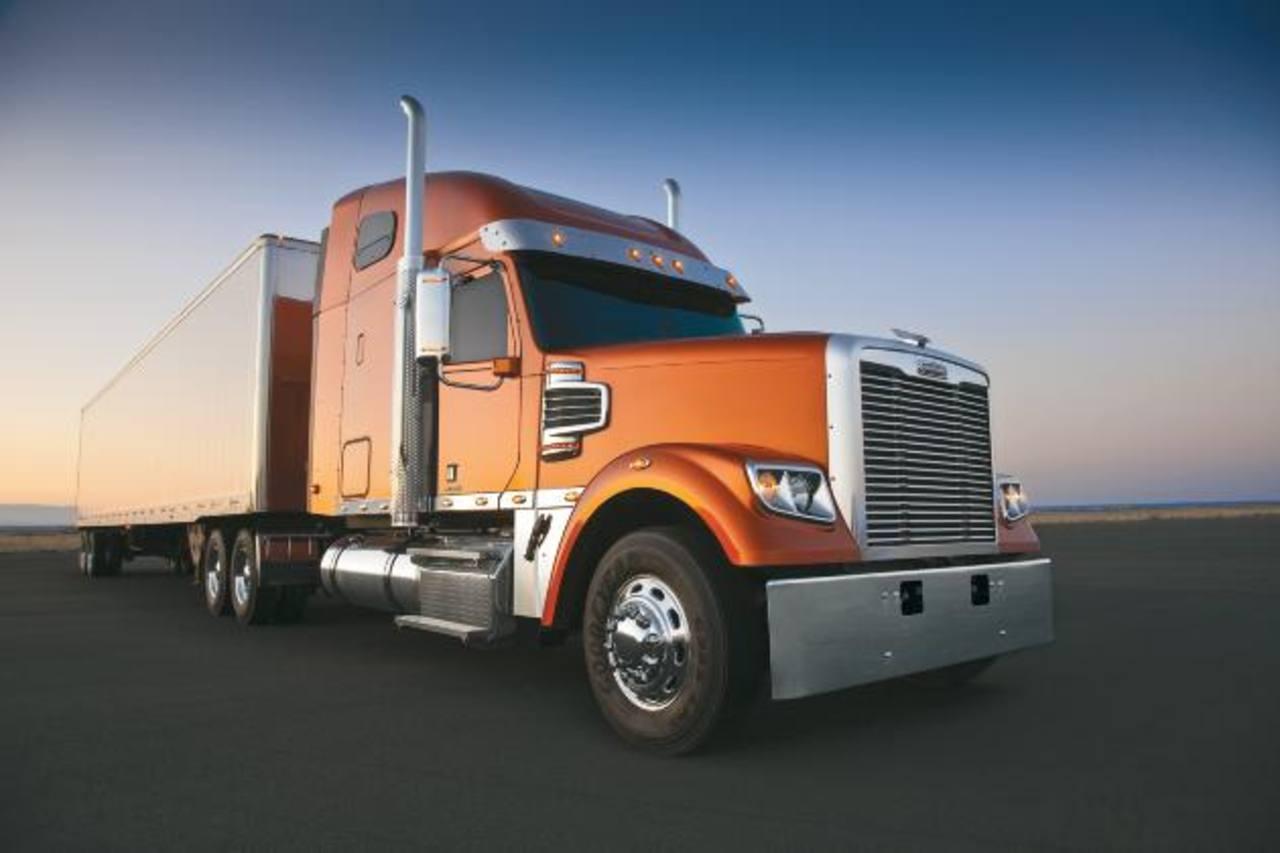 Imagen de uno de los modelos de Freightliner. La marca cuenta con camiones de entre 15 y 55 toneladas. Tomada de Freightlinertrucks.com
