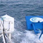 Los convertidores de energía de las olas, inventados por la empresa israelita Eco Wave Power, socio de El Salvador Sostenible.