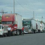 Transportistas de carga advierten con paro en El Amatillo por cobro en Honduras