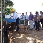 Las autoridades municipales no precisaron el tiempo de ejecución de la obra. Foto EDH / lucinda quintanilla.