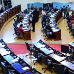 La Asamblea podría analizar una Ley de Responsabilidad Fiscal.Delegados del FMI con miembros del Asocio para Crecimiento.