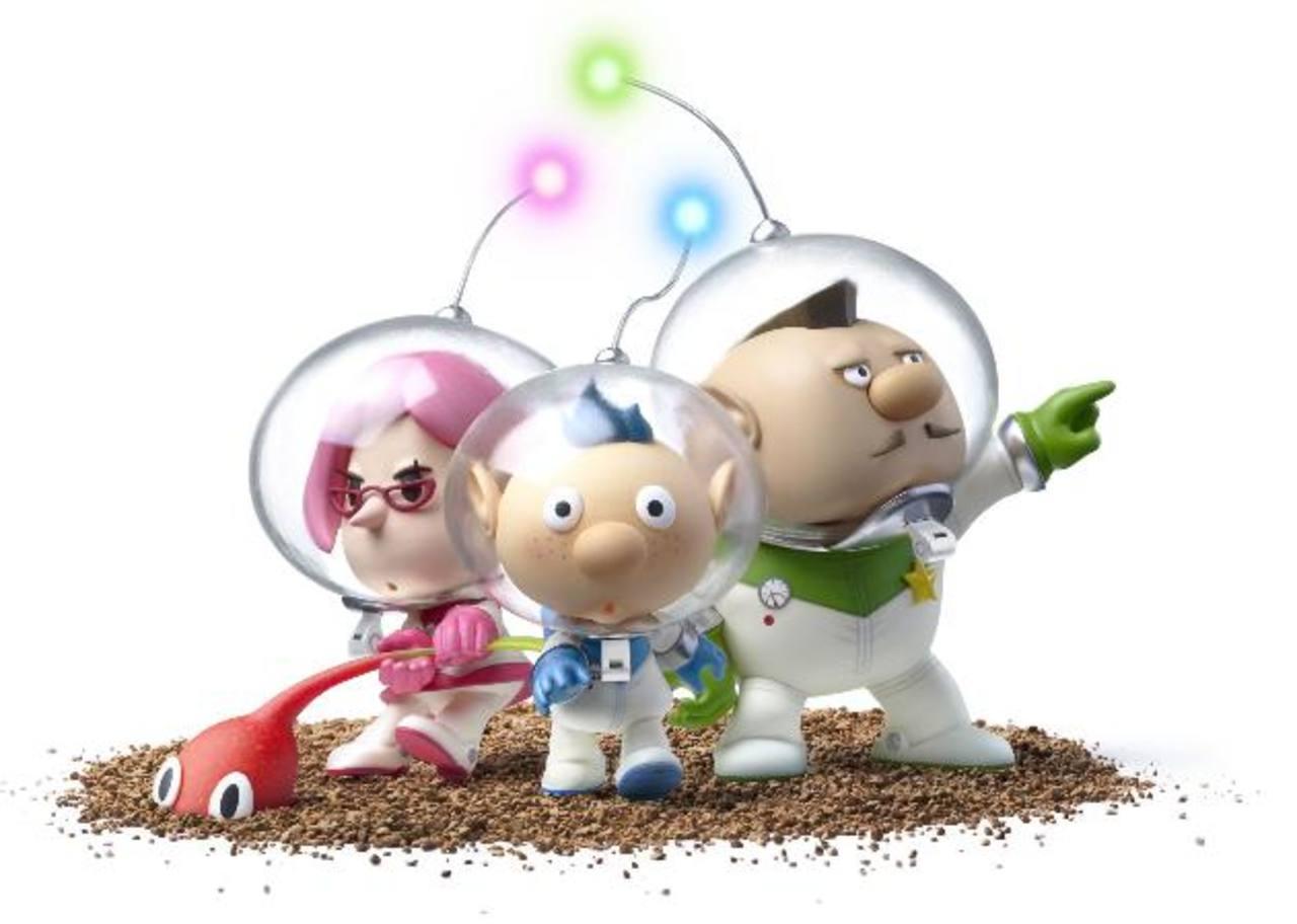 Los protagonistas del corto animado en 3D fueron inspirados en los personajes del videojuego PIKMIN de Nintendo.