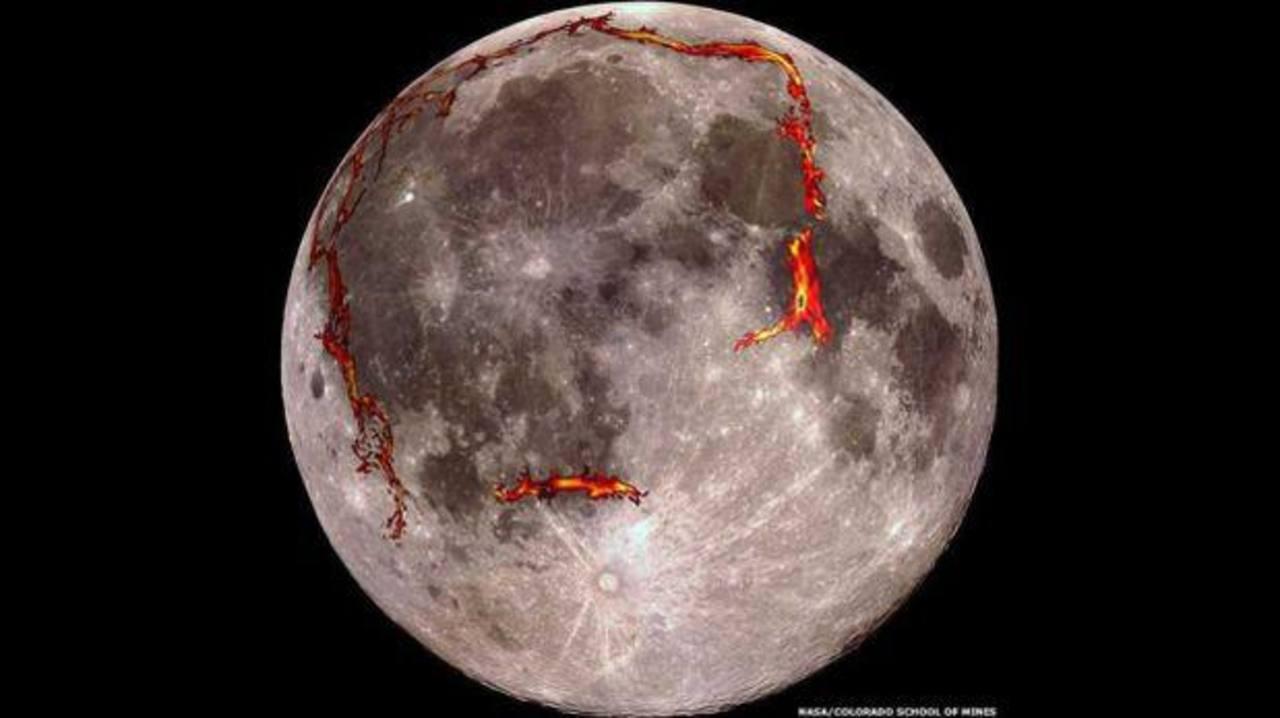 Descubren el origen de la mancha oscura más grande de la Luna