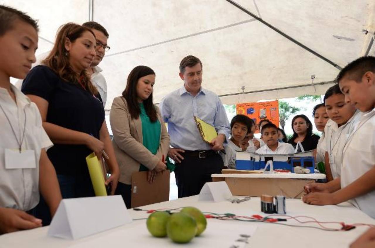Los niños Discovery dieron un show científico. Fotos EDH/ Húber Rosales