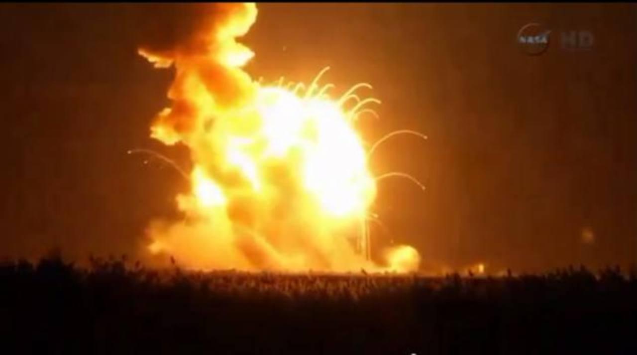 Video: Cohete no tripulado de la NASA explota tras lanzamiento