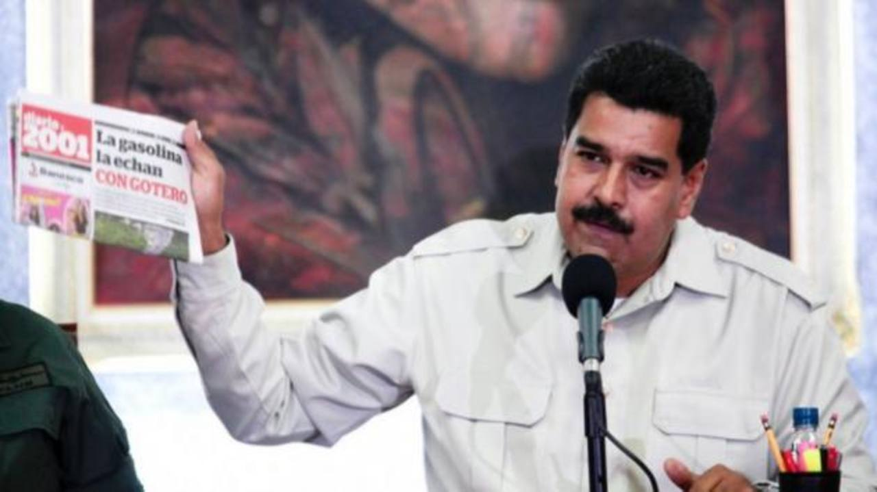 """El régimen de Nicolás Maduro ha acusado al presidente del Gobierno español, Mariano Rajoy, de """"injerencia"""". foto edh / internet"""