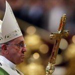 El Papa Francisco invocó la protección de la Virgen María sobre los trabajos del Sínodo de la familia. foto edh