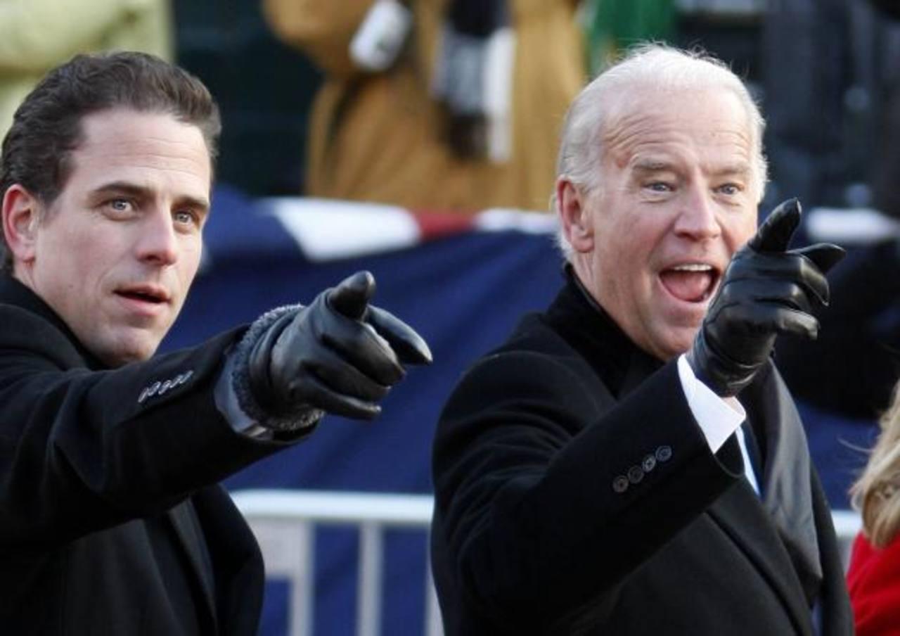 Hunter Biden, hijo menor del vicepresidente de EE. UU., fue expulsado de la Armada de EE. UU. por ingerir drogas. foto edh