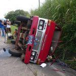 Accidentes viales causan lesiones en 7 personas