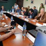El Sistema Nacional de Protección Civil se reunió ayer para discutir medidas preventivas ante la posible llegada del virus del ébola al país. Foto EDH / Mauricio Cáceres