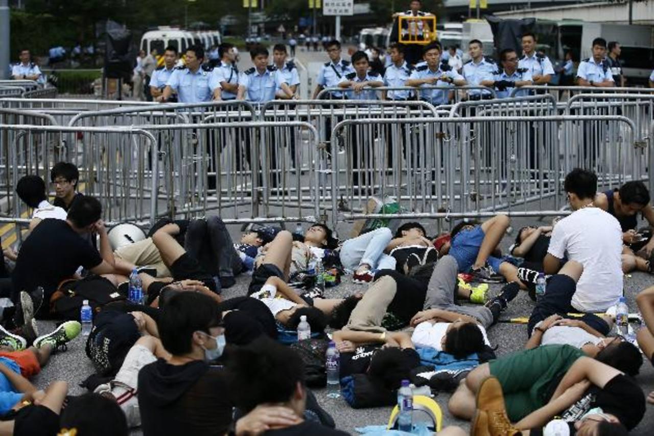 Tensión en Hong Kong: el Gobierno no dimite