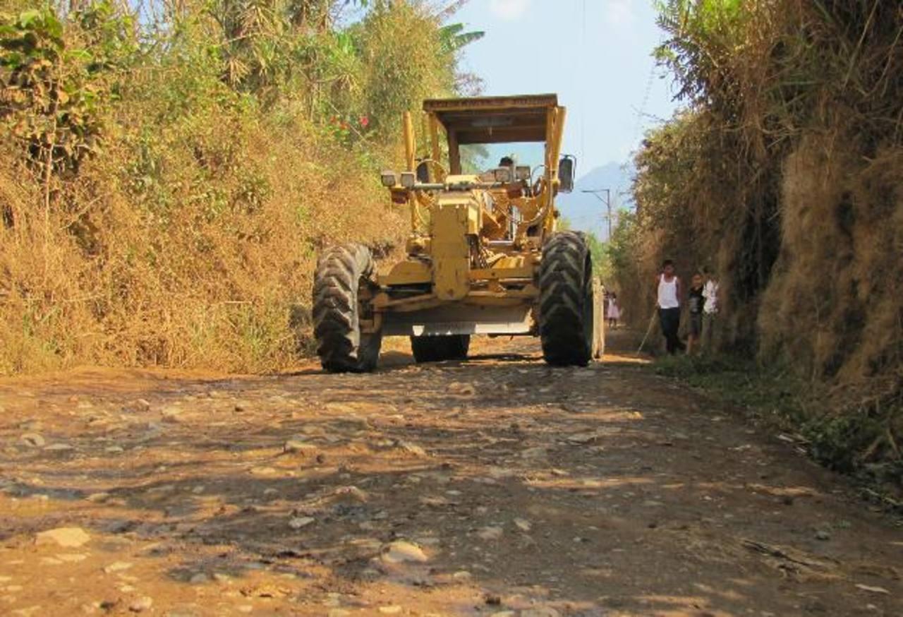 MOP invertirá los fondos en la construcción de oficinas para la Unidad de Caminos Rurales. Foto EDH / Archivo