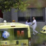 Fachada del Hospital Carlos III de Madrid, en el que se encuentra ingresada la auxiliar de enfermería Teresa Romero, contagiada de ébola. foto edh / efe