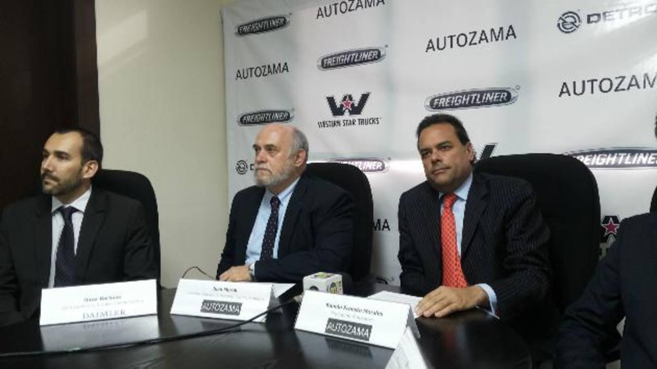 Ramón Morales, presidente de Autozama, anunció la entrada de la empresa al mercado salvadoreño.