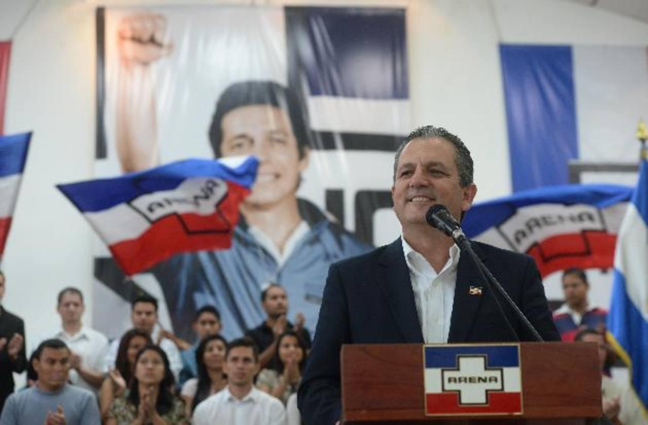 El candidato a la alcaldía capitalina, Edwin Zamora, buscaría acercamientos con Obras Públicas por Sitramss. foto edh / archivo