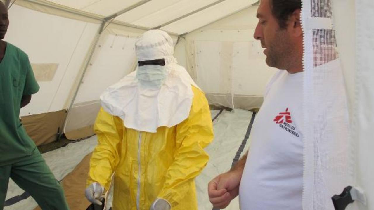 """Médicos Sin Fronteras: """"Estamos al límite y desbordados con el ébola en África"""""""