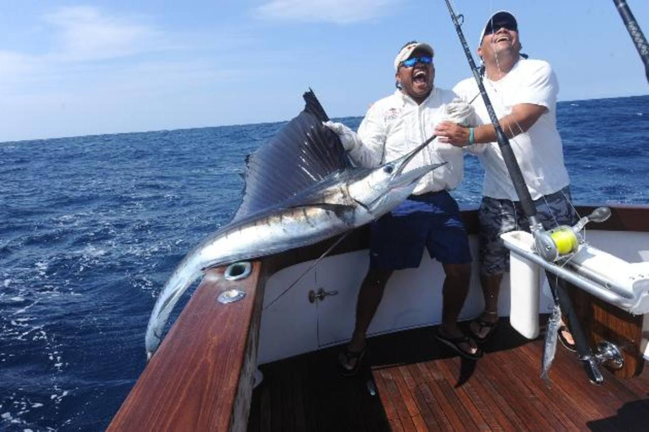 Guatemala es referente mundial de pesca de pez vela.