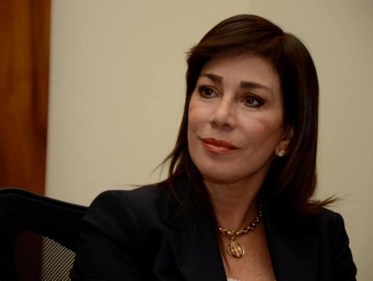 Ana Vilma de Escobar descarta candidatura para alcaldía de San Salvador
