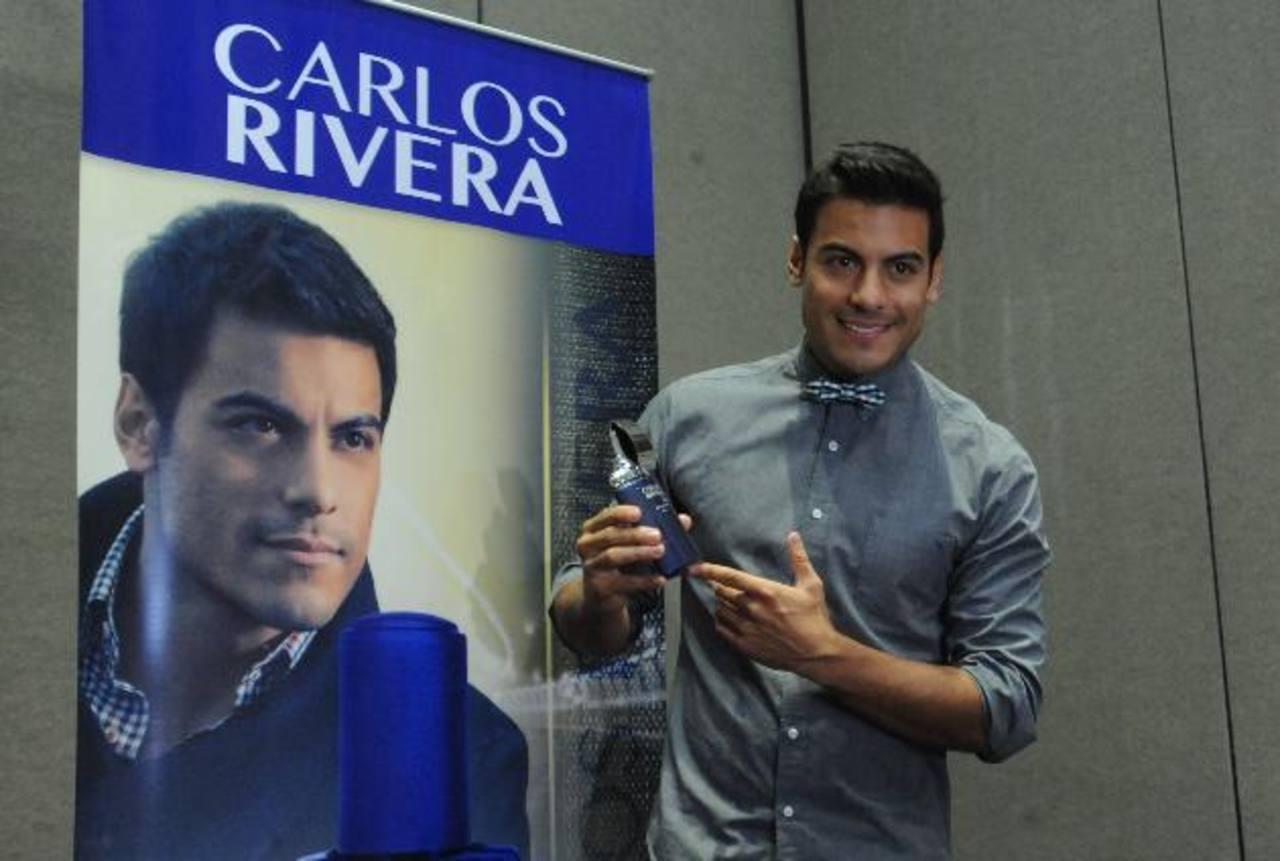 Rivera durante la conferencia. Foto EDH / Lissette monterrosa