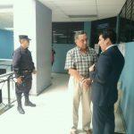 Carlos Perla llegó al Juzgado de Vigilancia Penitenciaria