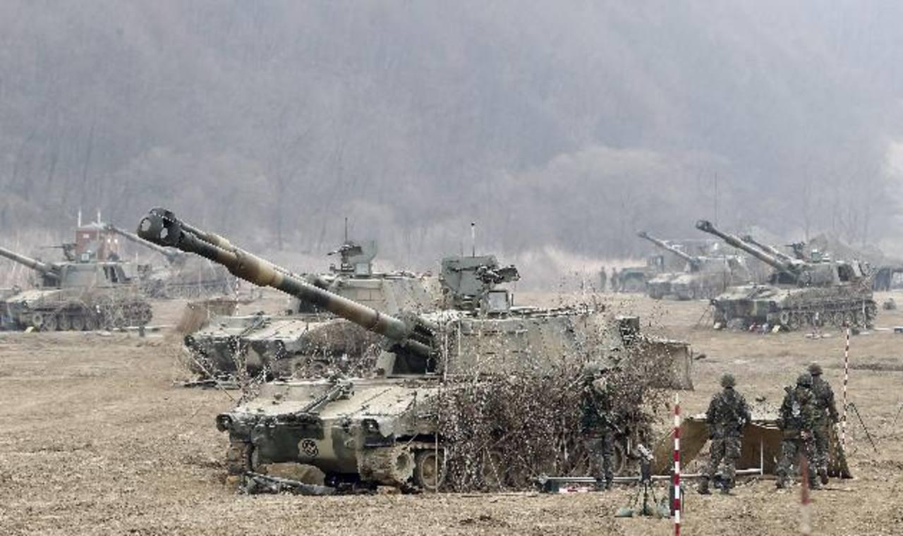 No se reportaron bajas en ninguno de los intercambios de disparos entre las dos Coreas. foto edh /ARCHIVO