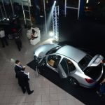 Para el evento se presentó el nuevo modelo GLA y el rediseño del modelo Clase C. fotoS edh / César Avilés