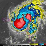 El huracán Gonzalo.