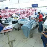 Área de Emergencias del hospital Rosales saturada. Foto EDH / Marvin Recinos