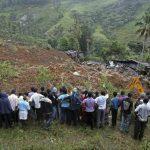 10 mueren y 250 desaparecen en deslave en Sri Lanka