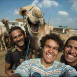 ¿Un camello sonriente?