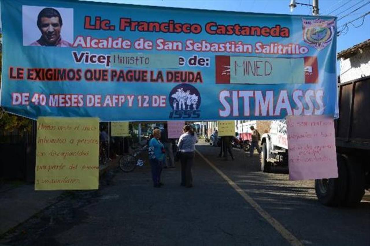 Termina paro en comuna de San Sebastián Salitrillo