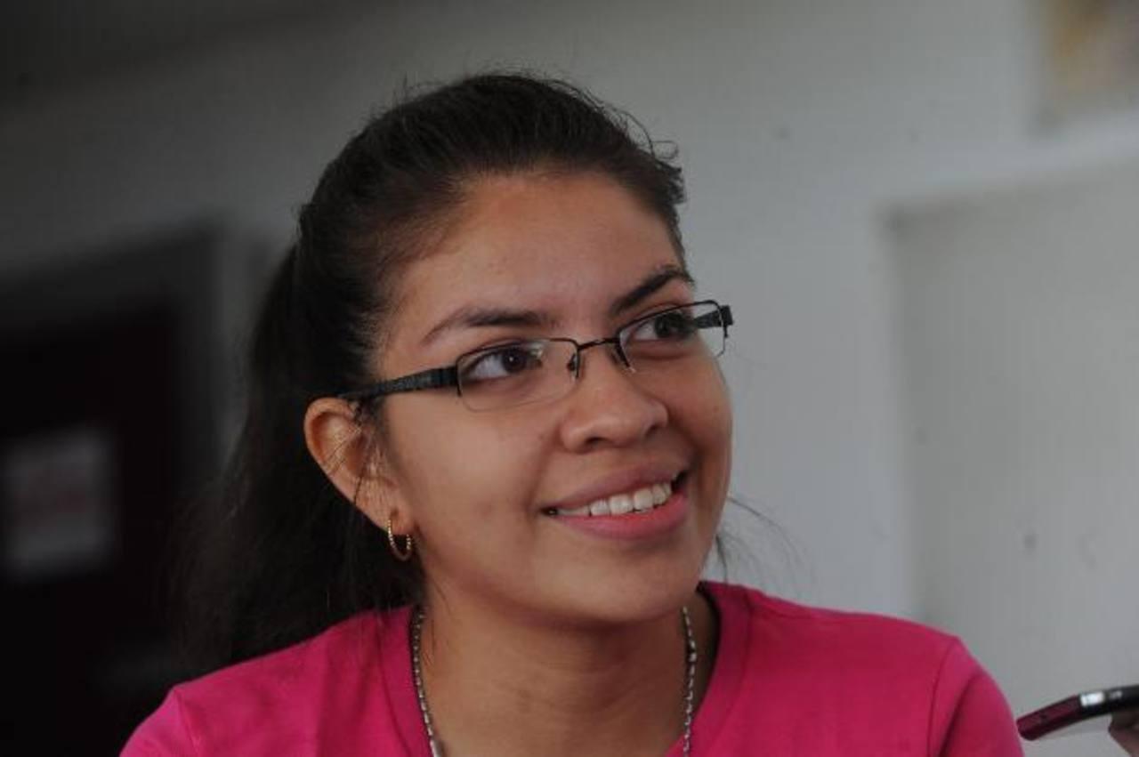 En el futuro, Priscila Sierra pretende incursionar en la política salvadoreña. Foto EDH