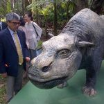 Abren Jardín Prehistórico en el Parque Saburo Hirao