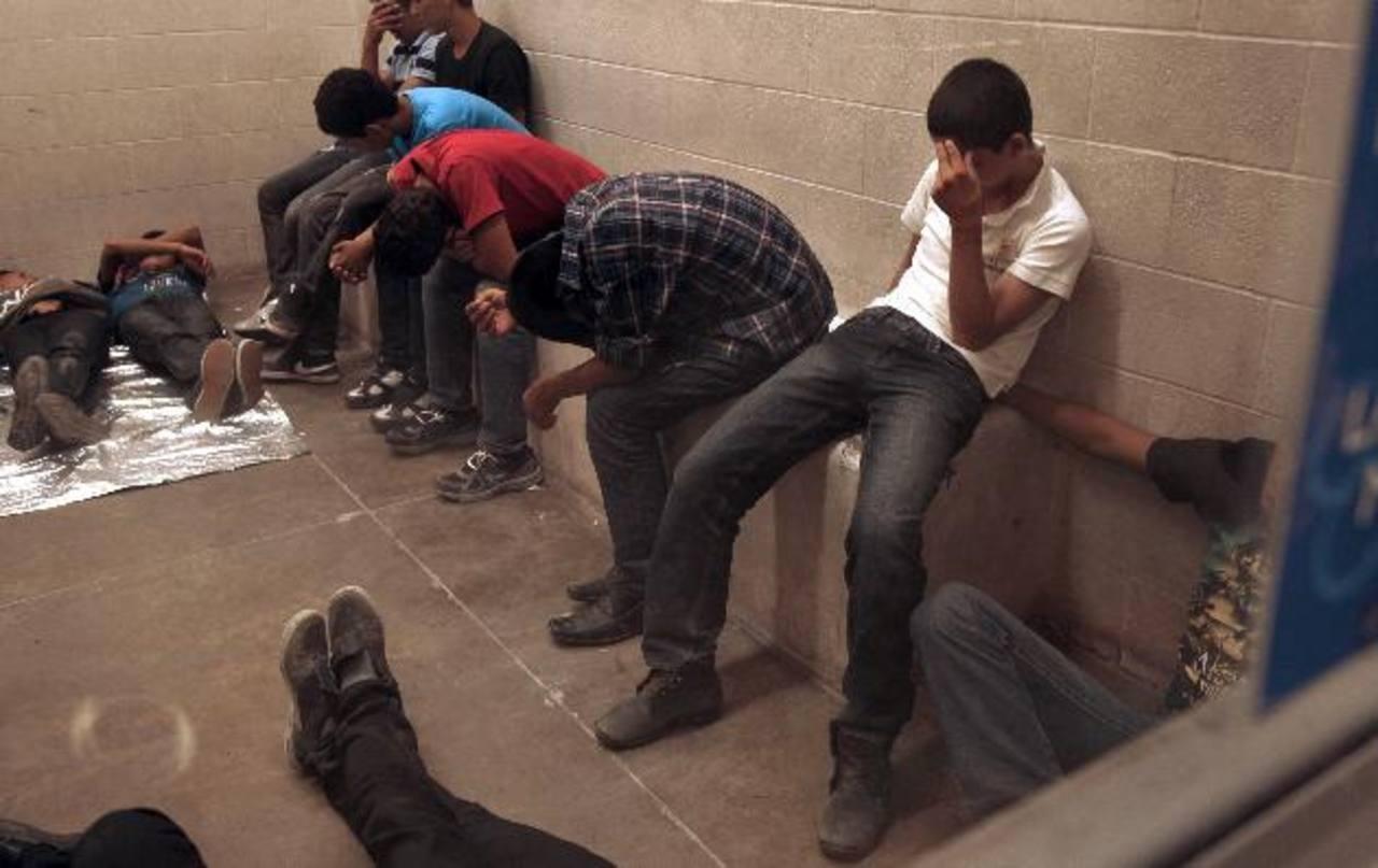 En el año fiscal 2014, Estados Unidos detuvo a 16 mil 404 menores de El Salvador. Foto EDH / Archivo