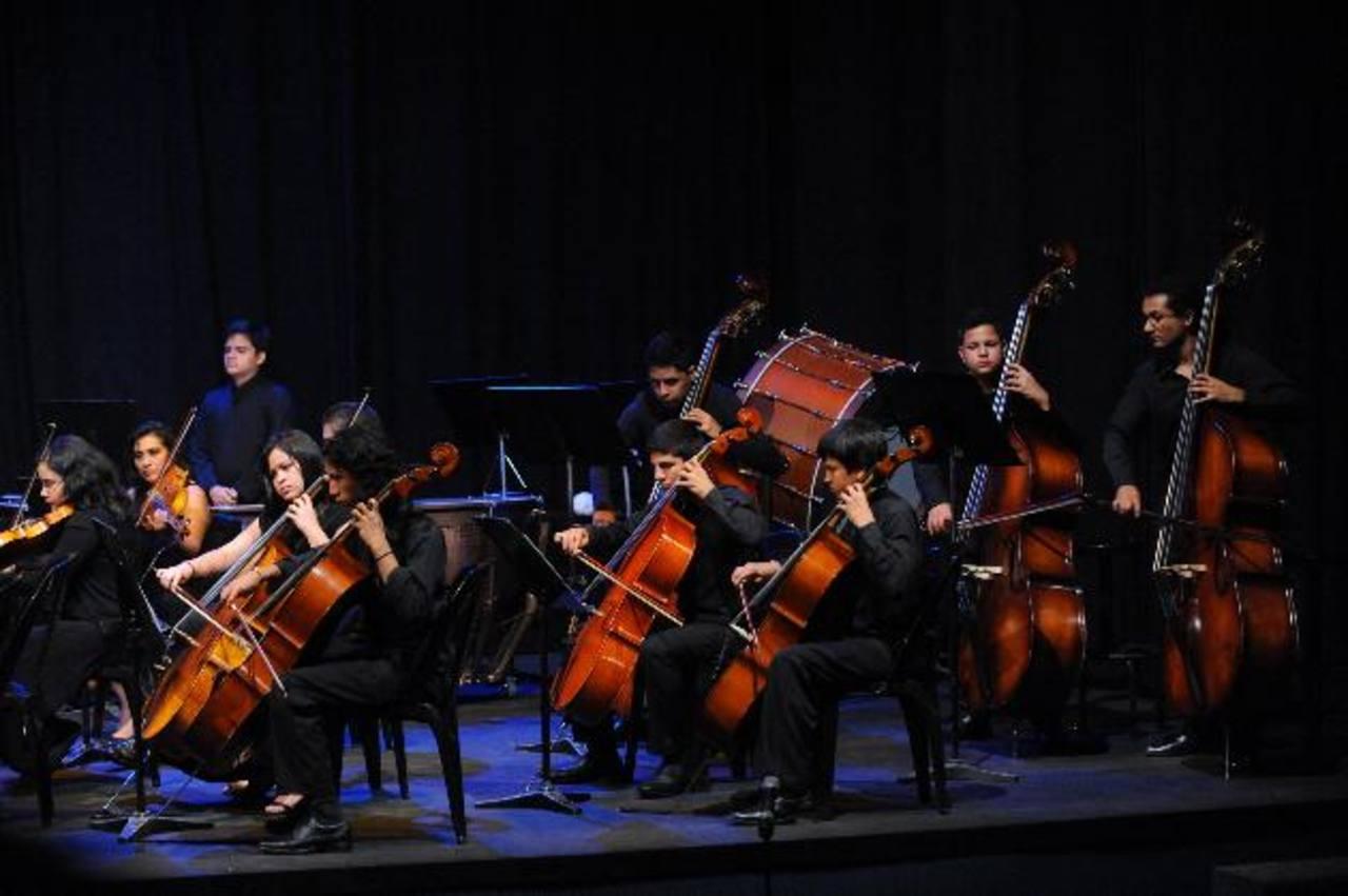La Orquesta Sinfónica Juvenil (OSJ) dará concierto en el auditorum de Fepade los próximos 2 y 3 de octubre. foto EDH / ARCHIVO