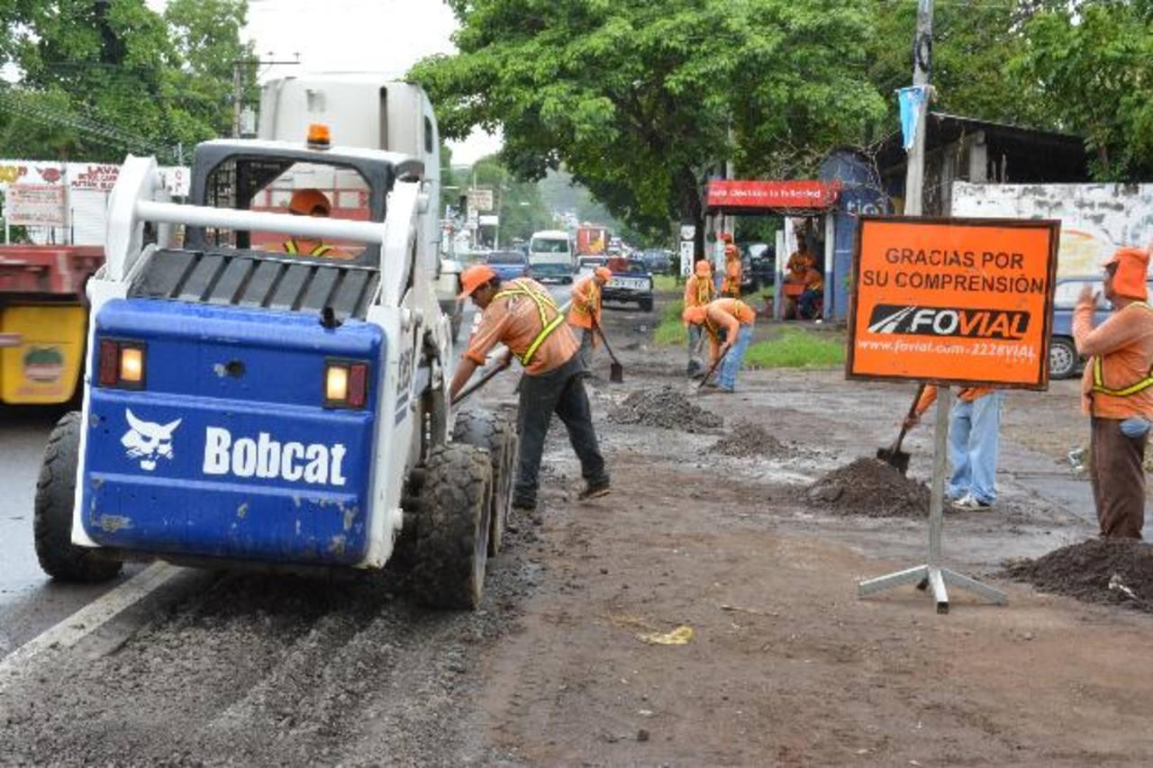 Los trabajos empiezan dentro de dos semanas en la carretera internacional. El tráfico en la entrada a la ciudad podría complicarse. foto edH / Carlos Segovia