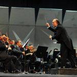 La OSES interpretará a Gluck, Webern y Mendelssohn bajo la dirección del maestro German Cáceres. Foto EDH / Archivo