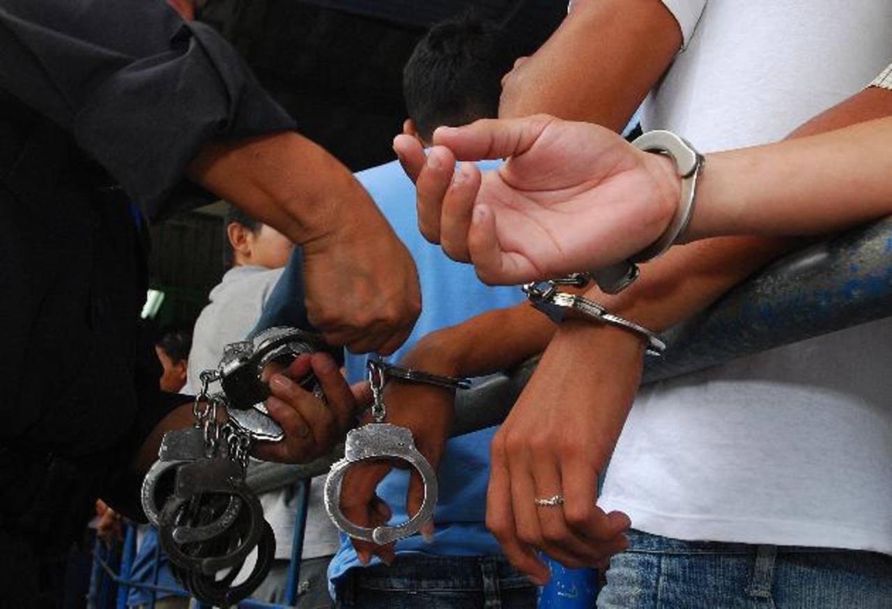 Pandilleros reciben de 20 a 100 años de cárcel por asesinatos