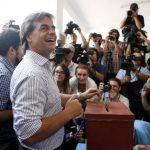Luis Lacalle Pou, centroderechista. foto edh / reuters