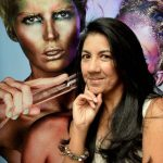 Jacki Carías ofrece talleres de capacitación en maquillaje de fantasía. Foto EDH/ MARIO AMAYA