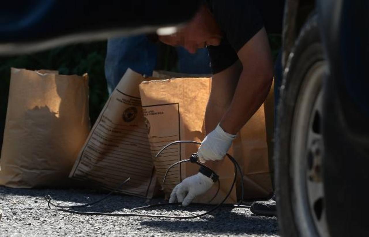Al menos 10 homicidios registraron las autoridades el sábado en diferentes lugares. Foto EDH