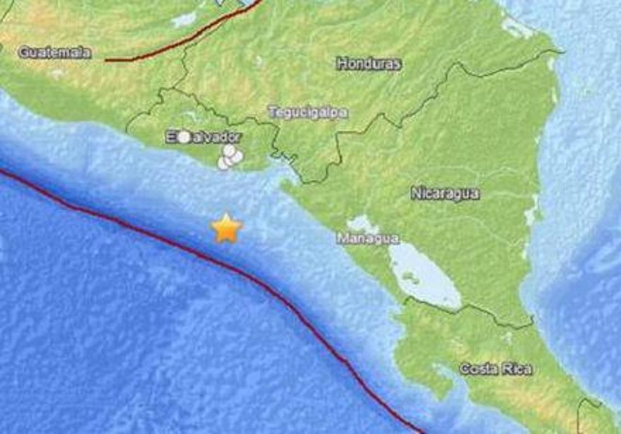 Nicaragua registra 18 réplicas tras terremoto frente a costa salvadoreña