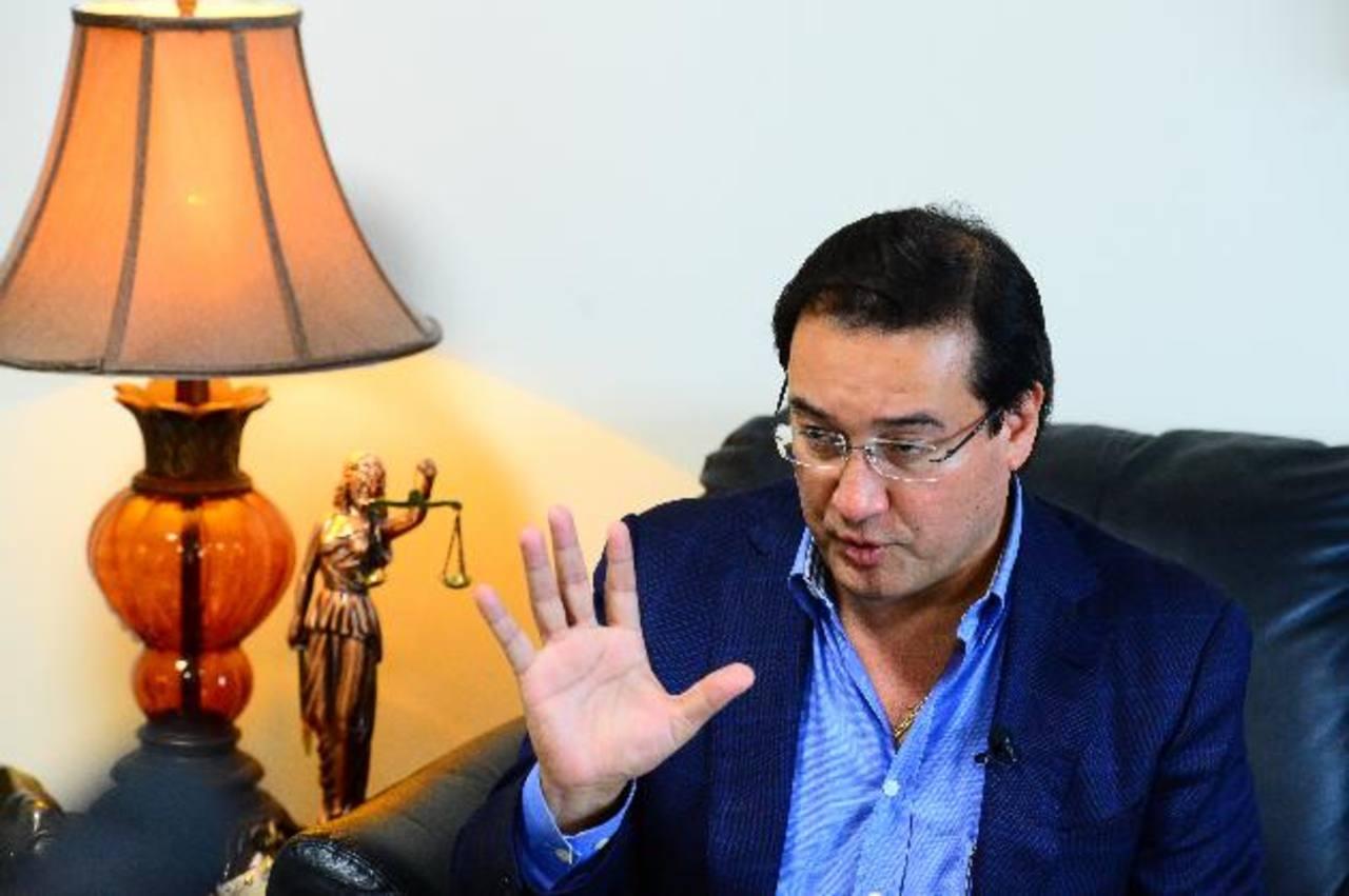 El Fiscal General, Luis Martínez, afirma que constitucionalmente al Ministerio Público le corresponde el monopolio de investigaciones.